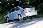 Chevrolet Aveo spate lateral